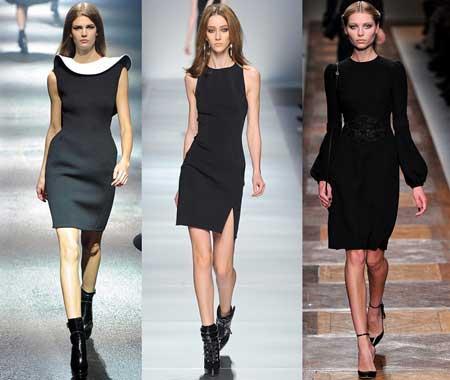 фото маленьких черных платьев 2013