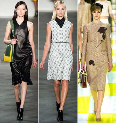 деловые платья 2013 тенденции