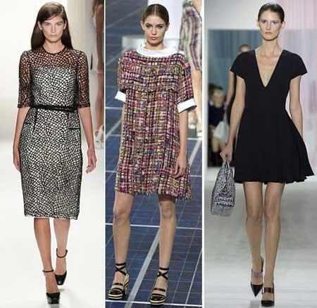 офисная мода платья 2013