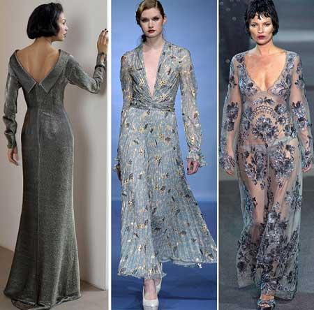 фото длинных платьев 2014 в вечернем стиле