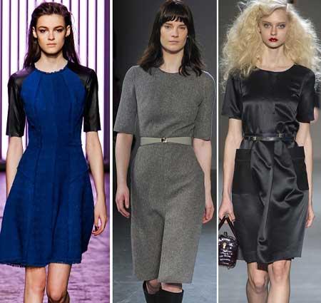 офисные платья 2014 примеры