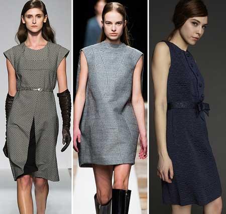 стильные платья 2014 для офиса