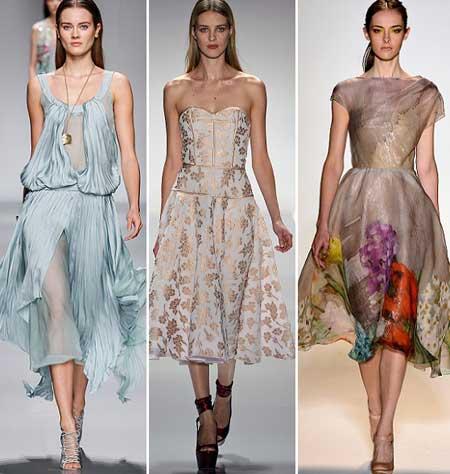 фасоны приталенных выпускных платьев 2013