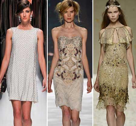 фасоны коротких платьев на выпускной 2013