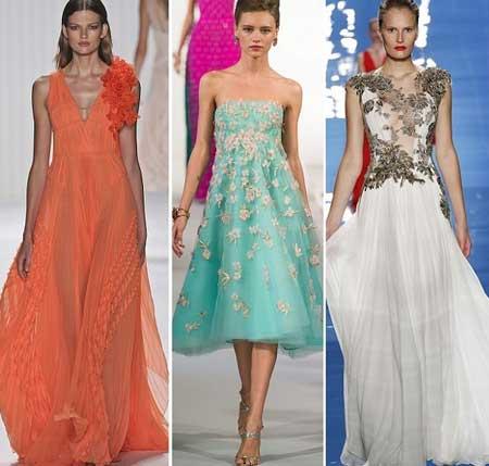 пышные фасоны платьев на выпускной 2013 фото
