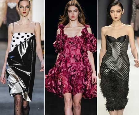 фасоны коктейльных платьев 2014