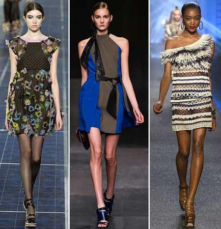 модели коротких платьев 2013 фото