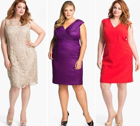 модные коктейльные платья 2013 для полных