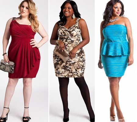дизайн коктейльных платьев для полных 2013