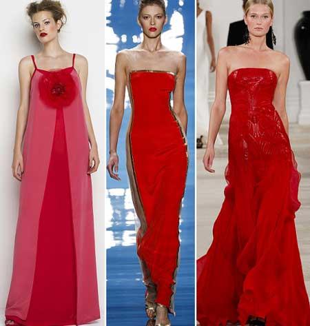 длинные шикарные красные платья на выпускной