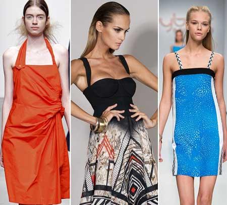 летние платья 2013 с бретелями
