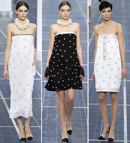 нарядные платья в горошек 2013