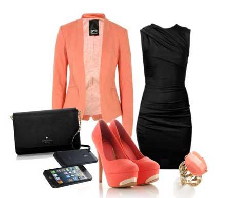 как носить платье типа футляр