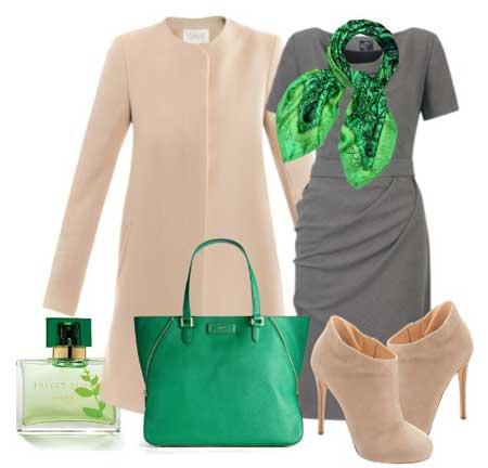 как носить платье-футляр деловой женщине