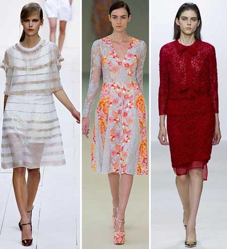 модные платья на весну 2013 фото