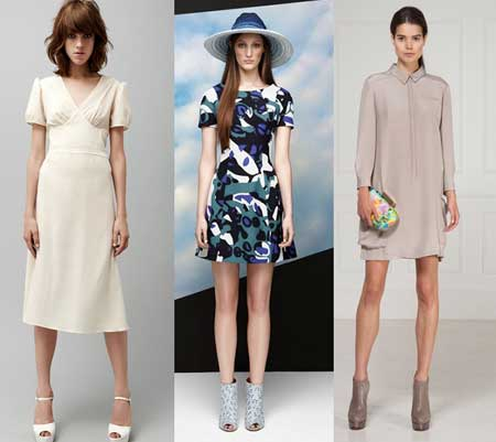 модные повседневные платья 2013