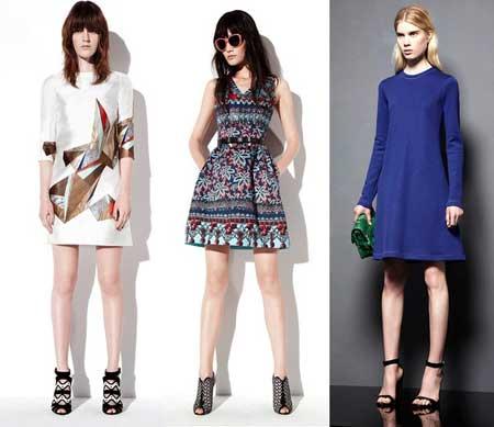 модели повседневных платьев 2013