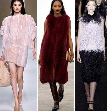фото меховых платьев осень-зима 2013-2014