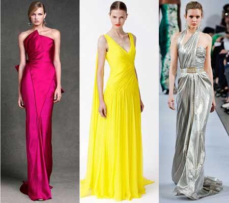 вечерние платья 2013 в пол