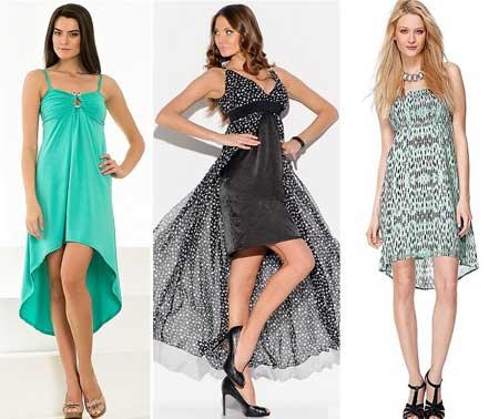 модели платьев-разлетаек