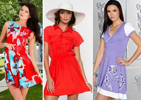 летние платья-разлетайки фото