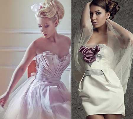 модели свадебных платьев с корсетом