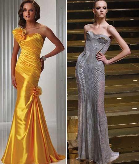 роскошные платья в пол с корсетами