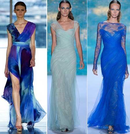 шифоновые платья в пол для выпускного вечера 2013