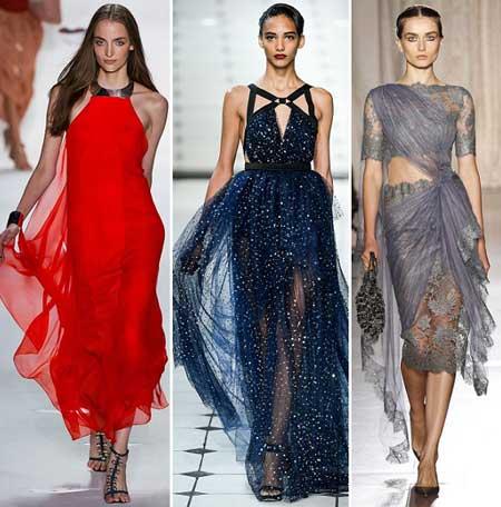 фасоны выпускных платьев 2013 из шифона