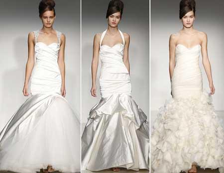 свадебные платья рыбка и русалка в 2014 году