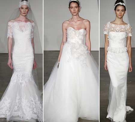 кружевные свадебные платья - хит 2014 года