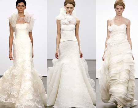 белые свадебные платья 2014
