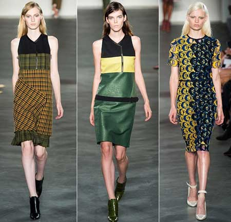 модные весенние платья 2013