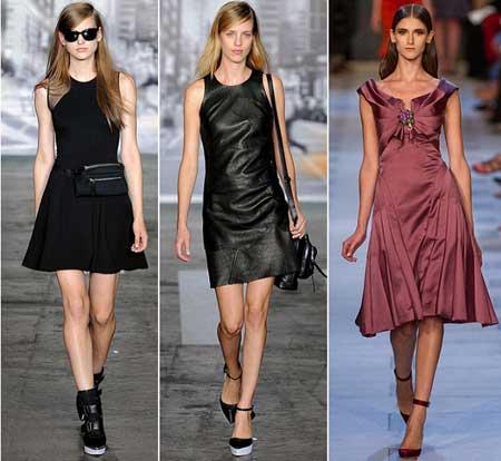 модели платьев для весны 2013