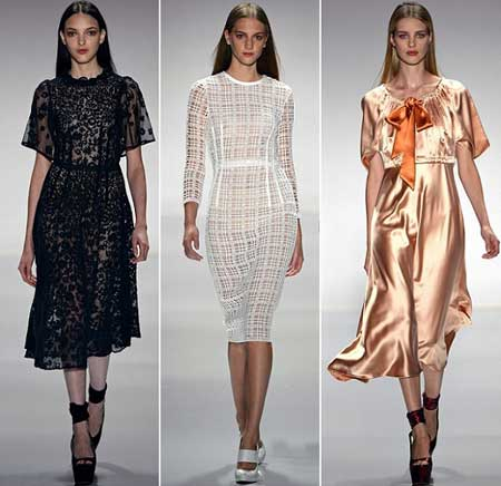 элегантные платья для весны 2013