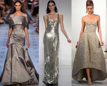 вечерние весенние платья 2013