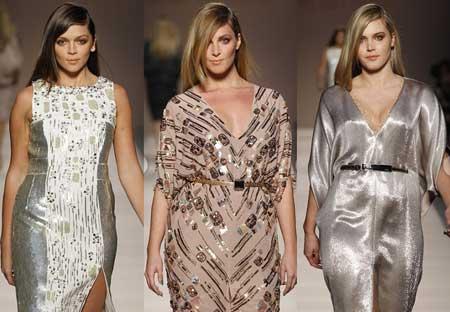 идеи для выпускного 2013 - вечерние платья с блеском