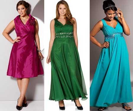 выпускные платья 2013 для полных - оттенки драгоценных камней