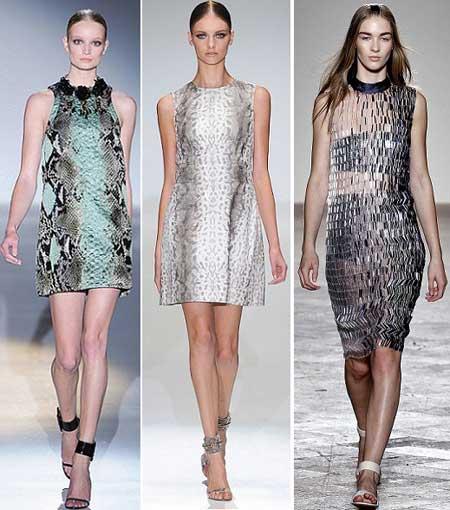 платья под змею 2013
